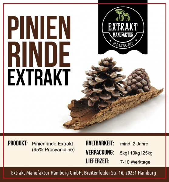 Label_Extrakt Manufaktur_Bulkware_Pinienrinde