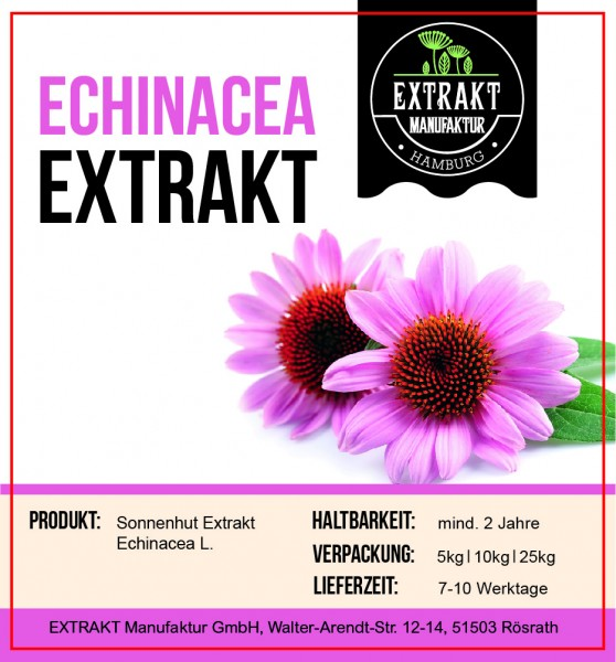 Label_Extrakt Manufaktur_Bulkware_Echinacea