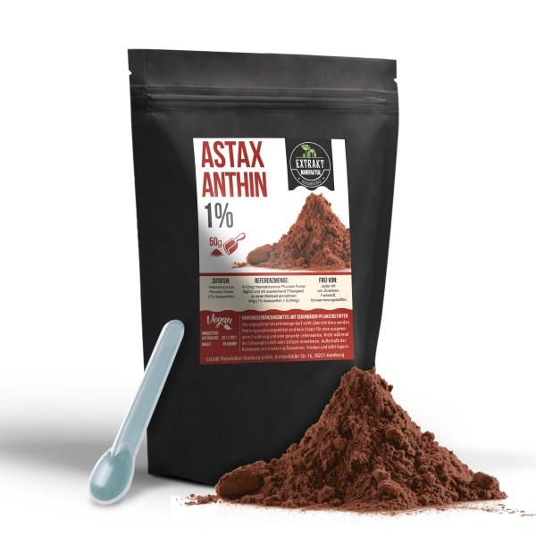 Extrakt Manufaktur_Astaxanthin (Pulver)_1%_100g