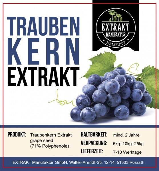 Label_Extrakt Manufaktur_Bulkware_Traubenkern