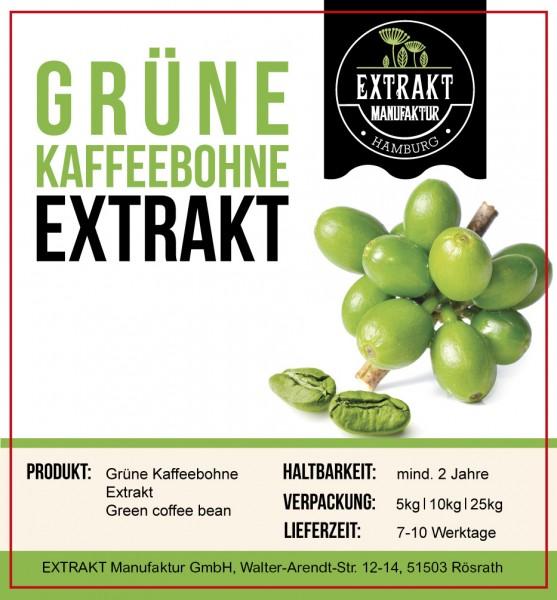 Label_Extrakt Manufaktur_Bulkware_Grüne Kaffeebohne