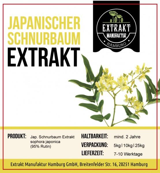 Label_Extrakt Manufaktur_Bulkware_Japanischer schurbaum