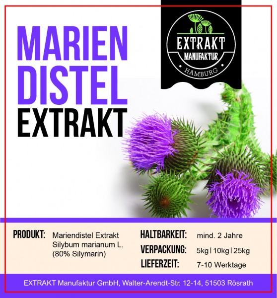 Label_Extrakt Manufaktur_Bulkware_Mariendistel