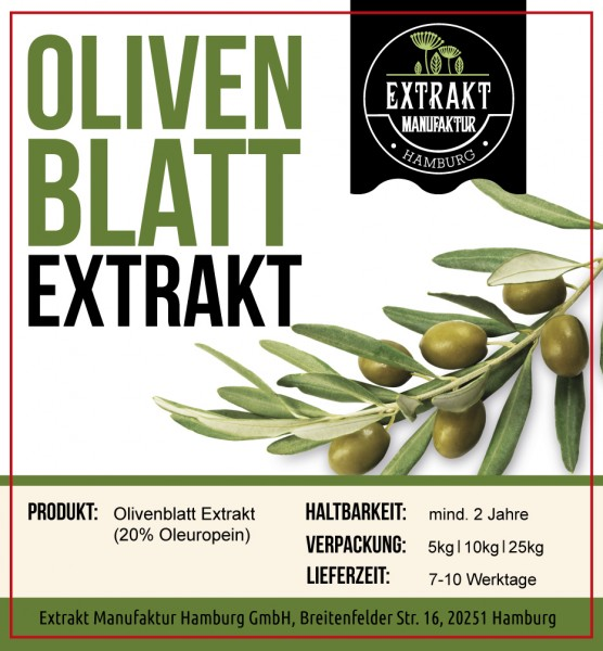 Label_Extrakt Manufaktur_Bulkware_Olivenblatt