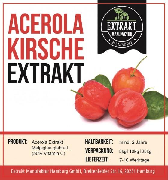 Label_Extrakt Manufaktur_Bulkware_Acerola Kirsche