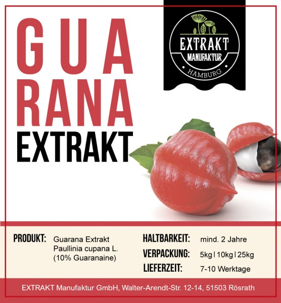 Label_Extrakt Manufaktur_Bulkware_Guarana