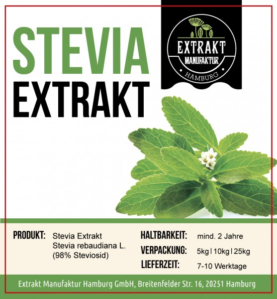 Label_Extrakt Manufaktur_Bulkware_Stevia