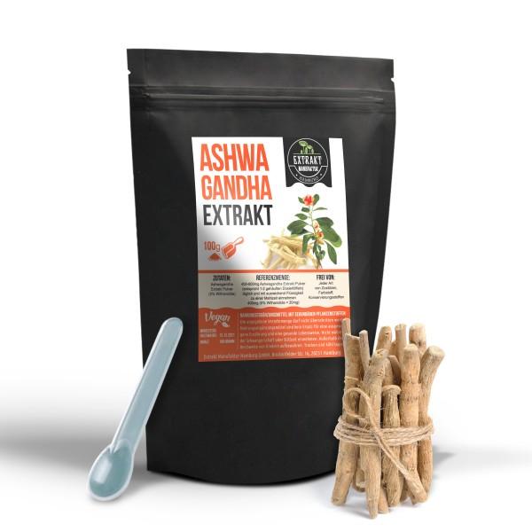 Extrakt Manufaktur_Ashwagandha (Pulver)_5%_100g