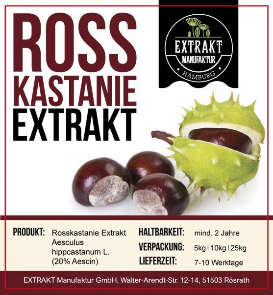 Label_Extrakt Manufaktur_Bulkware_Rosskastanie