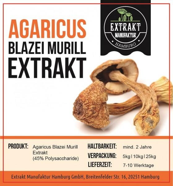 Label_Extrakt Manufaktur_Bulkware_Agaricus Blazei Murrill
