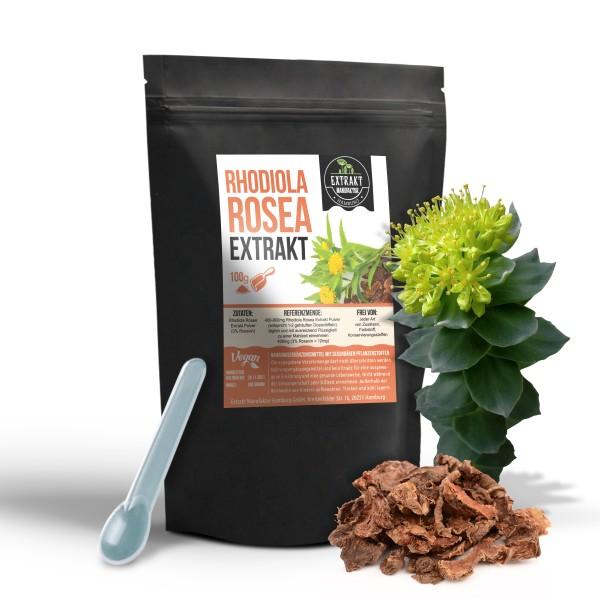 Extrakt Manufaktur_Rhodiola Rosea (Pulver)_100g